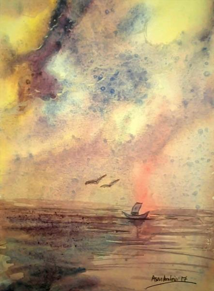 The Cloud and The Sea by Asm Ambia