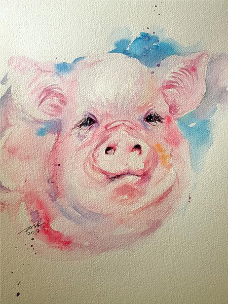 Tilly the Pig by Arti Chauhan