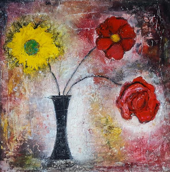 Say it with flowers II by Isabelle Amante