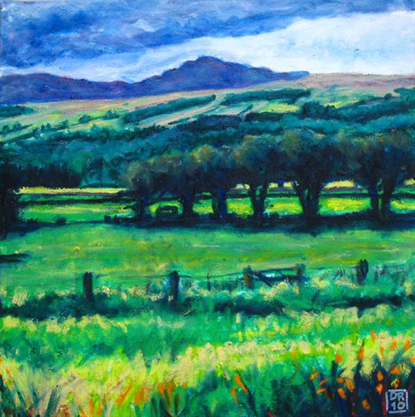 Strathtay in High Summer by Dermod Ruddock