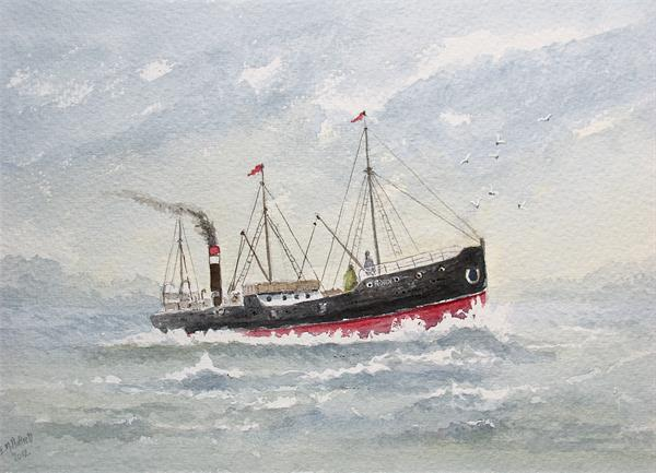 Ss Robin by Eric Hattrell