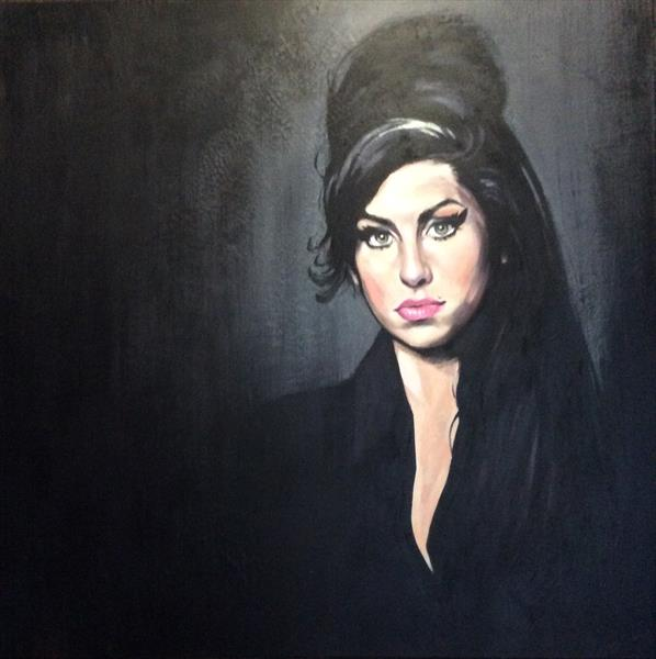 Amy Winehouse by sharon coles