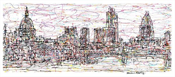 London Skyline (3) by Brian Keating