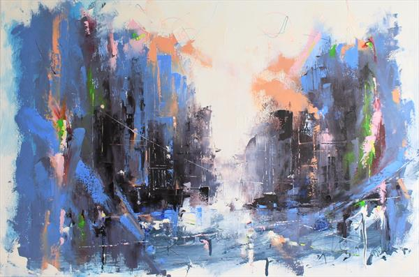 'Metropolis Abstract' by Dan Wellington