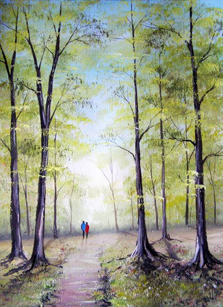 Woodland Walk by Sarah Featherstone