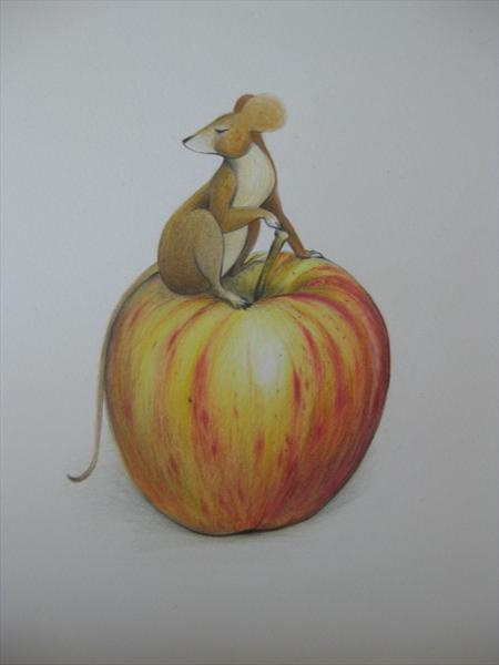 Mouse On Apple