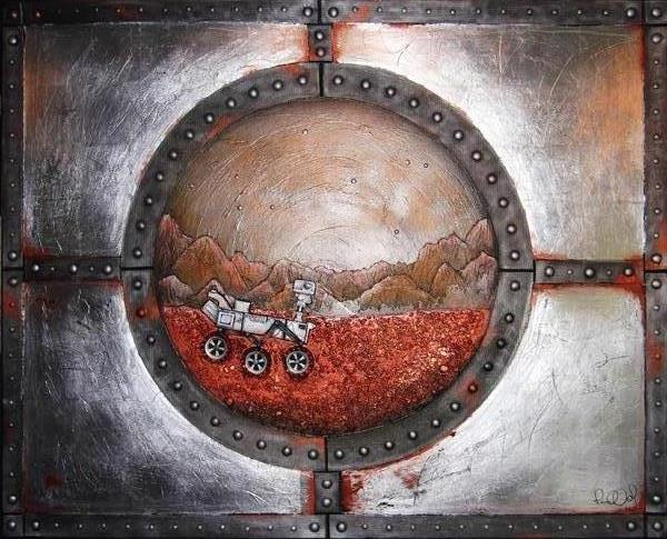 The Red Planet by Paula Lundy