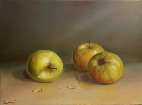 Golden apples by Diana Janson