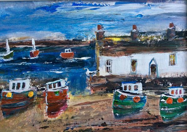 PEBBLE HARBOUR  by Roma Mountjoy