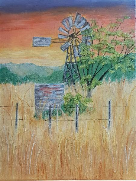 Africa Farm by Petra Potgieter