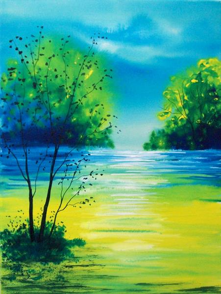 The Waters Edge by Patricia Richards