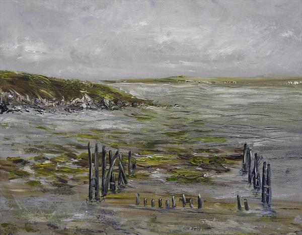 Mud Flats by Lesley Anne Cornish