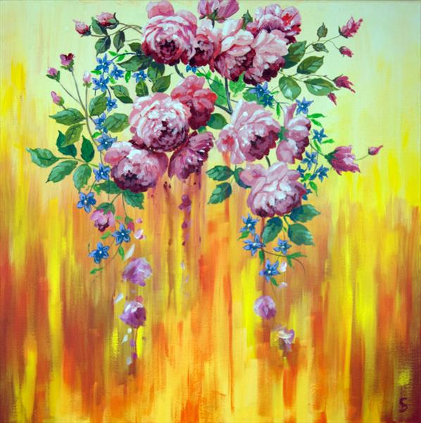 Scent of roses by Stuart Dalby