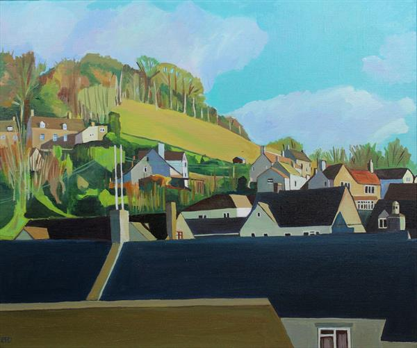 The Edge of Brimscombe by Emma Cownie