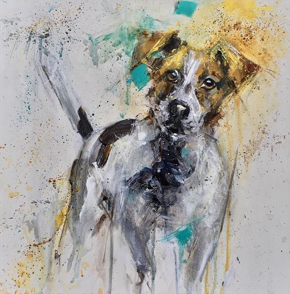 #Jack Russell by Pam Smallshaw