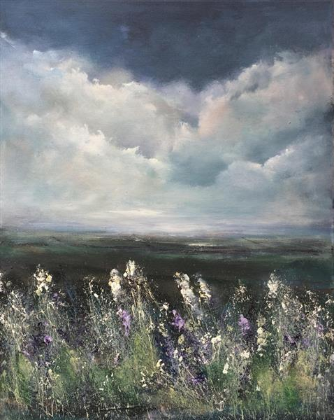 Landscape 'Wildflowers and Meadows' by Maxine Martin
