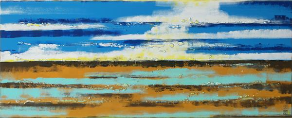 Sea View Landscape - 34J by Ronald Hunter