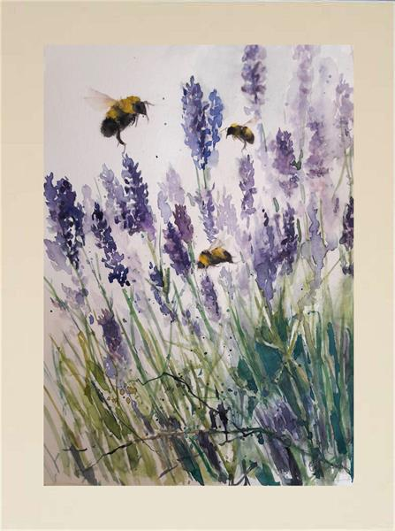 Bees & Lavender