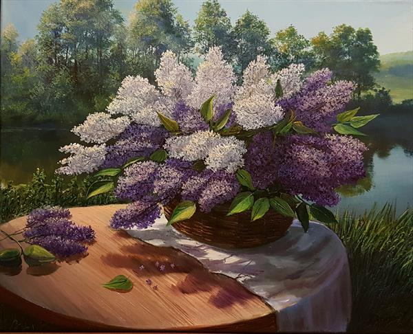 When Lilacs Bloomed by Diana Janson