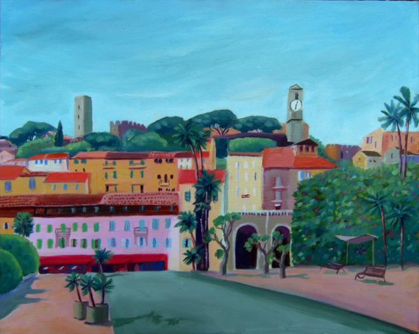 Colourful Cannes by Mary Stubberfield