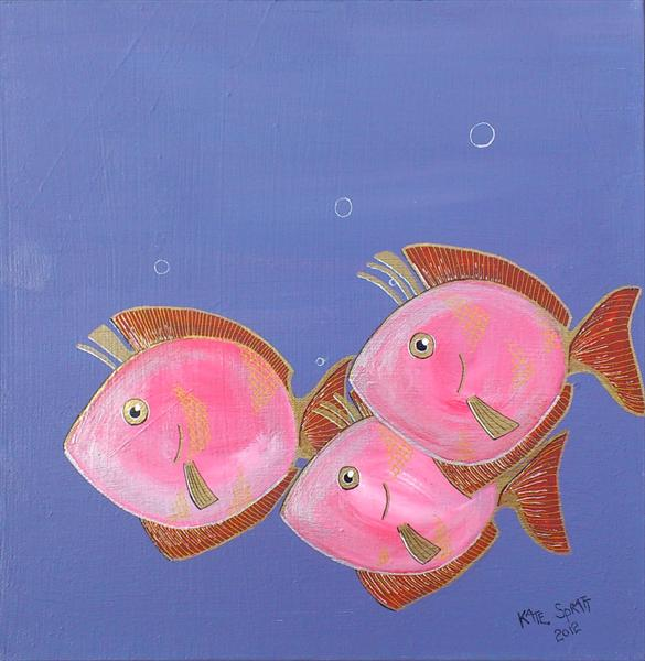 Swimming in Cold Water by Kate Spratt