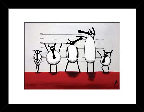 The Un-ewe-sual Suspects Limited Edition Print by Mervyn Tay