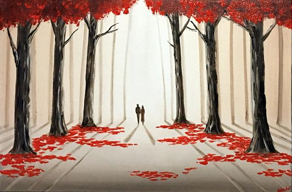 A Romantic Walk Through The Woods 2 by Aisha Haider