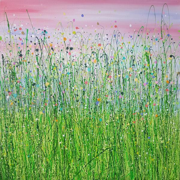 Blushing Sky Meadows by Lucy Moore