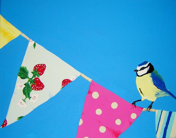 Bunting by Gemma June Giles
