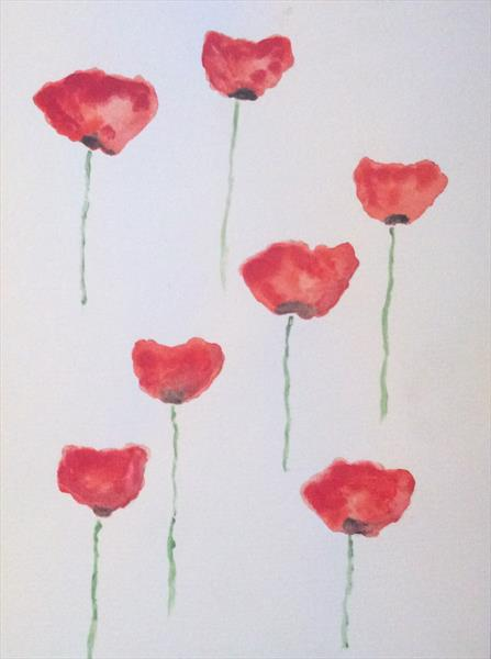 Poppies (2) by Denise Windle