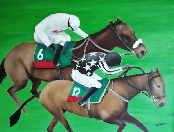 A race to the finish by Helen Reynolds