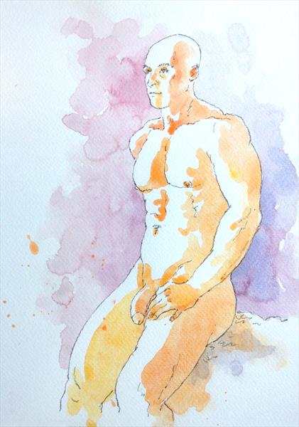 Bodybuilder by Peter Kavanagh