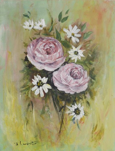 ROSES AND DAISIES by James Lancaster