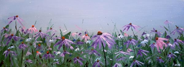 Purple Flowers by Andrew Snee