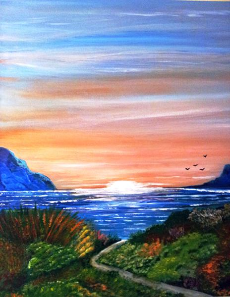 One Sunset Evening by Susan Cook