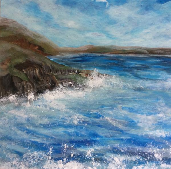 Wild Blue Sea by Robert Cadman