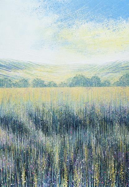 Flower Meadow In Summer by Marc Todd