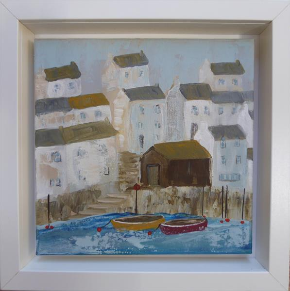 Slipway Boats by Elaine Allender
