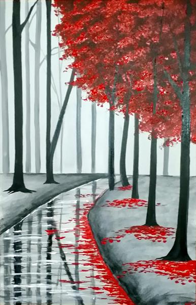 Red Tree Forest