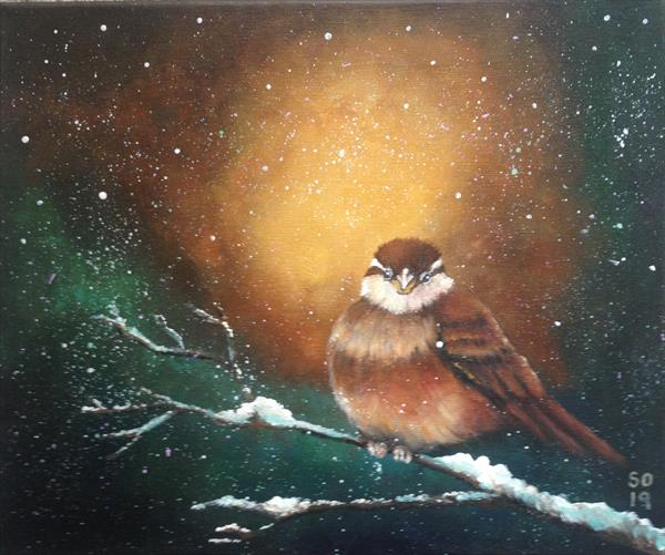 A Sparrow named Wyn  by Super Cosmic