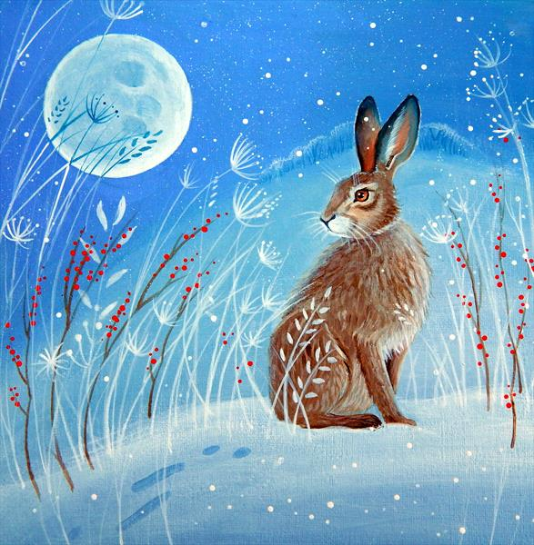 Lunar Hare by Denise Coble