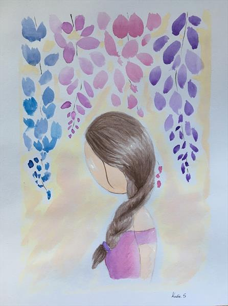 Whisper Through The Wisteria by Kadie Stebbing