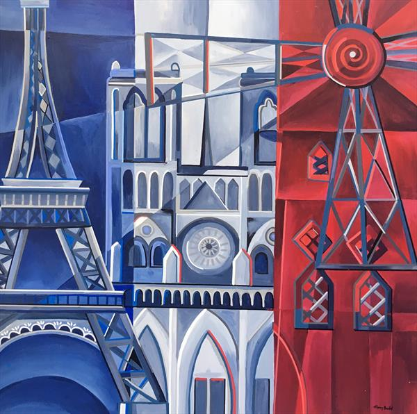 Parisian Icons 2 by Tiffany Budd