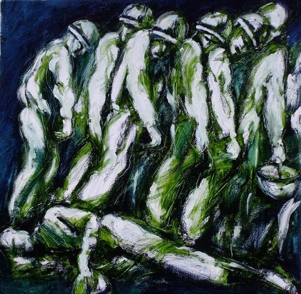 Soldiers Mourning by Peter King
