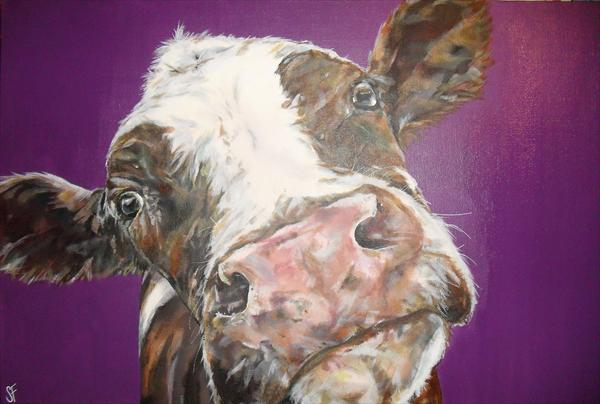 Soppy Cow by Sam Fenner