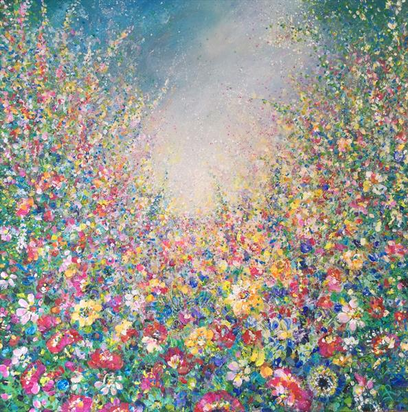 Floral Embrace by Janice  Rogers