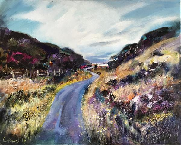 'The long and winding road' - Scottish Highland landscape by Luci Power