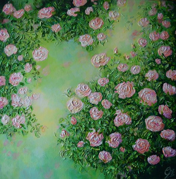 Rambling Rose by Colette Baumback