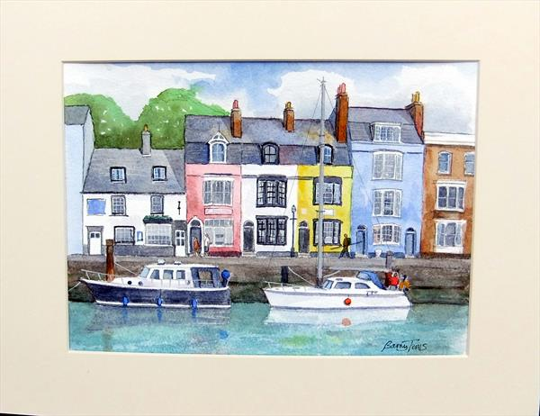 Weymouth Harbour by Barry Toms