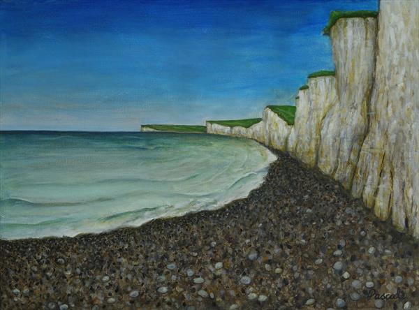Seven Sisters Sussex by Pascale Calcutt